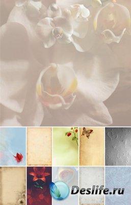 Романтические фоны для фотошопа