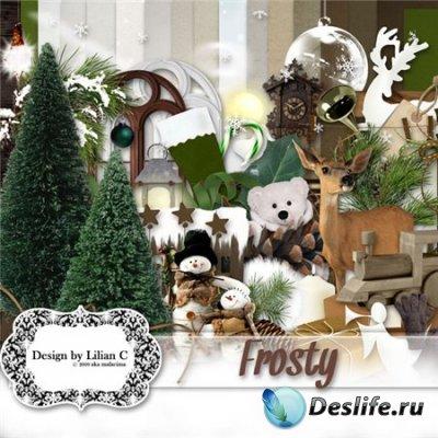 Скрап-набор для фотошопа - Frosty