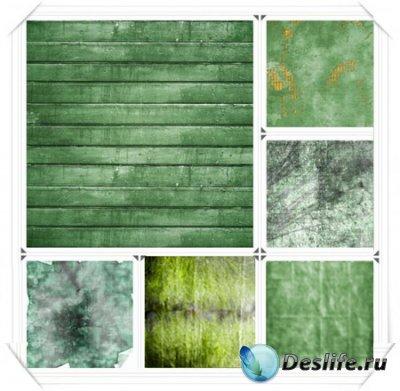Зеленые текстуры для фотошопа