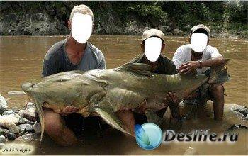 Костюм для фотошопа - Чудо рыба