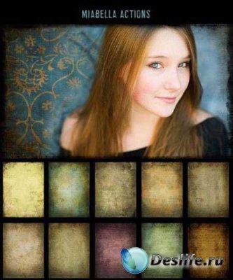 Текстуры для фотошопа от MiaBella Actions