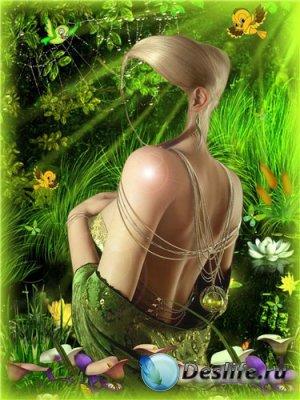 Костюм для фотошопа – Лесная фея