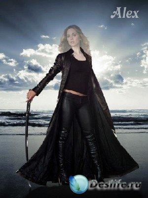 Костюм для фотошопа - Девушка с мечом
