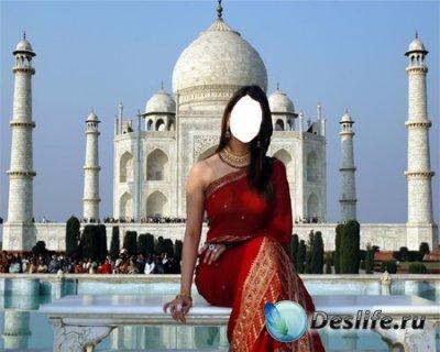 Костюм для фотошопа - Индийская Девушка