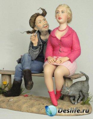 Авторские куклы Ирины Пахомовой