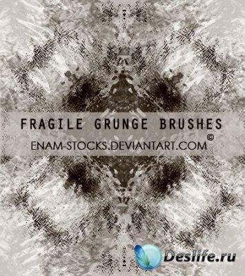 Fragile Grunge Brushes - Кисти для фотошопа