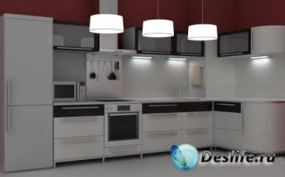 3D Модель кухонного набора
