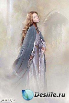 Романтический женский костюм для фотошопа - Принцеса!
