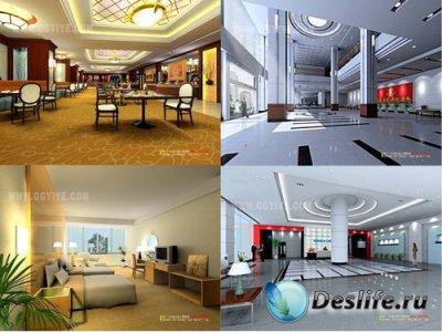 3D модели - Pack of Interior vol.2