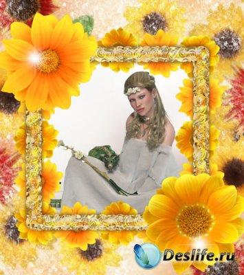 Рамка для фото - Цветы