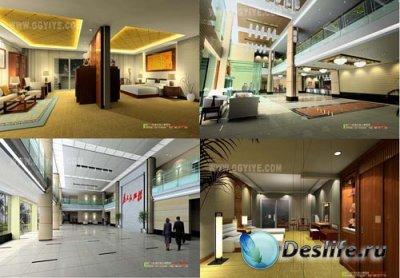 3D модели - Pack of Interior vol.7