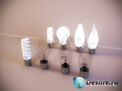 3D модель - Light bulbs