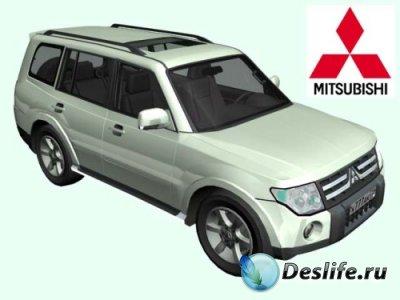 3D модели - Mitsubishi Pajero