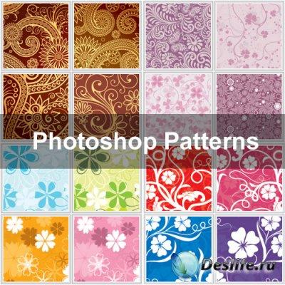 Nice Photoshop Patterns - Текстуры для фотошопа
