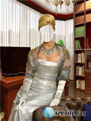 Костюм для фотошоп – Элегантная дама