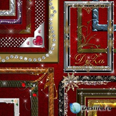 Набор Декоративных Рамочек для Фотошопа
