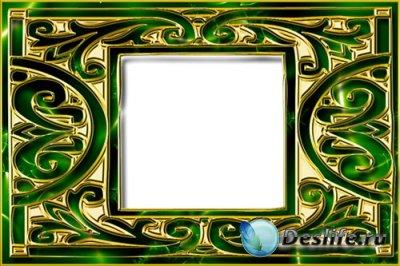 Рамка для Фотошопа - Блеск