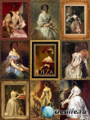 Сборник женских костюмов