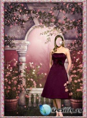 Костюм для фотошопа - Розовая жизнь