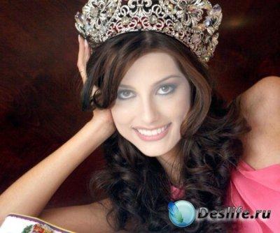 Шаблон для Photoshop - Королева красоты