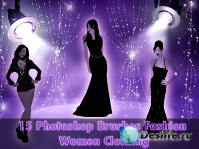 Кисти для фотошопа - Fashion Women Clothing