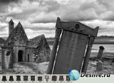 Tombstone Brushes - Кисти для фотошопа