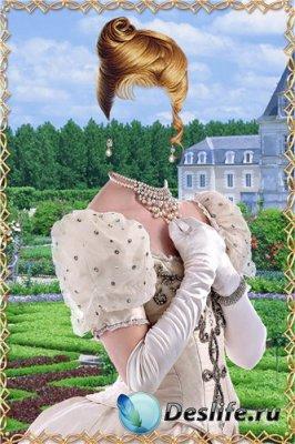 Костюм для фотошоп – Молодая принцесса