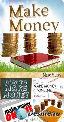 Stock Photo: Make Money