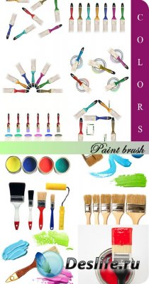 Stock Photo: Paint brush