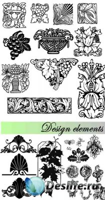 Stock Photo: Design elements