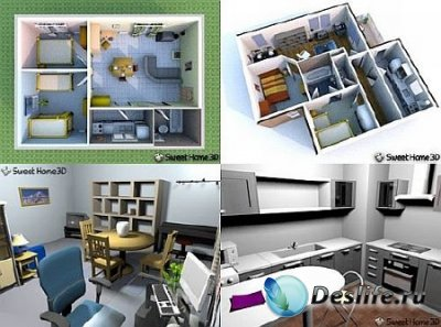 Sweet Home 3D 2.4 Rus + Portable