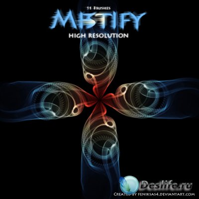 Mistify brushes 4 - Кисти для фотошопа