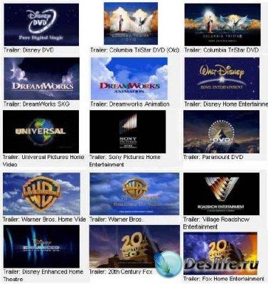 Трейлеры мировых кинокомпаний - Футажи для видеомонтажа