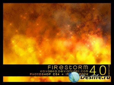 Firestorm Brushes - Кисти для Фотошопа
