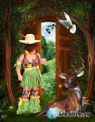 Костюм для фотошопа - Гостеприимный лес