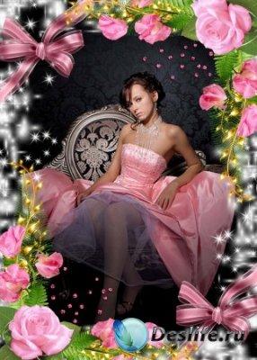 Рамка для фотошопа – Романтичная