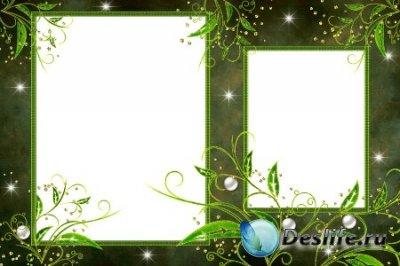 Рамка для фотошопа – Дремучий лес