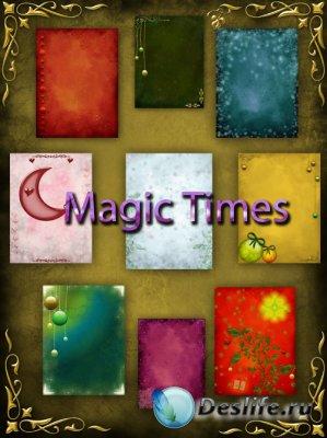 Фоны для фотошопа - Magic Times