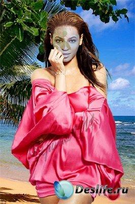 Женский костюм для фотошопа - У моря