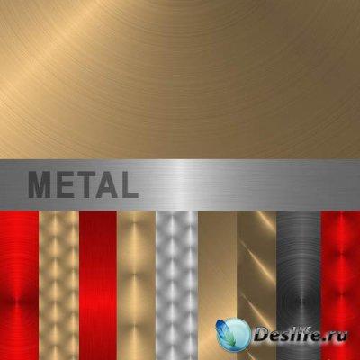Металлические текстуры для фотошопа