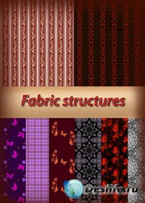 Тканевые текстуры для Фотошоп - Fabric structures