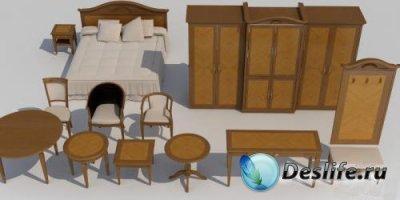 3D Модели классической мебели