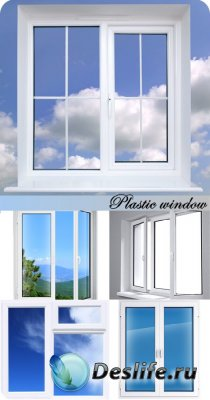 Stock Photo: Plastic window