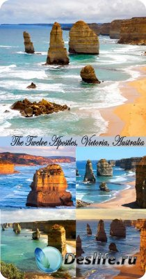 Stock Photo: The Twelve Apostles, Victoria, Australia