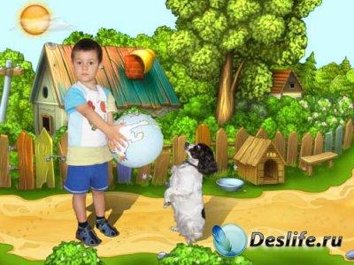 Детский костюм для фотошопа - Дрессировщик