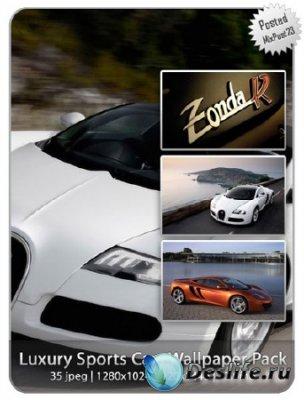Luxury Sports Cars Wallpaper Pack - Обои для рабочего стола