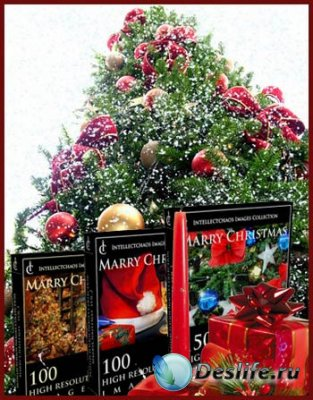 Три подборки новогоднего клипарта от Intellectchaos Images Collection