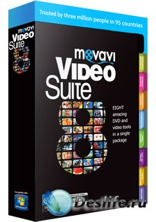 Movavi Video Suite 8.2/Редактор Видео Movavi 8.2