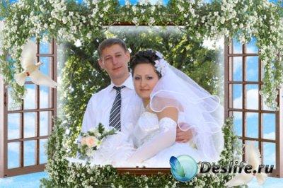 Рамка для фотошопа - Окно в новую жизнь