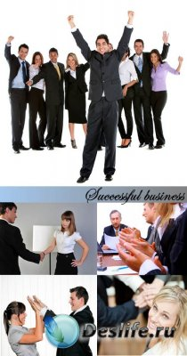 Stock Photo: Successful business